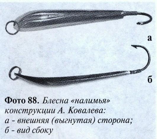 блесна Ковалева