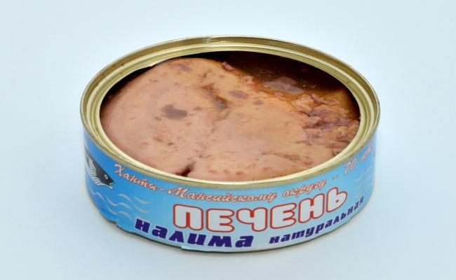 маринованная печень налима
