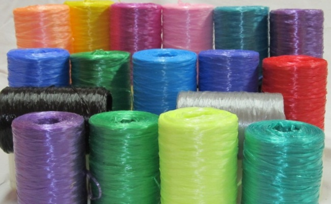 разноцветная леска