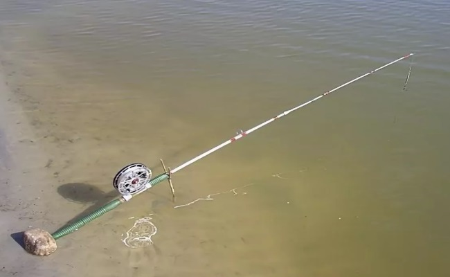 ловля щуки на донку с берега