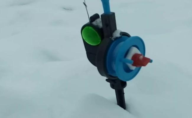 жерлица с электронным сигнализатором