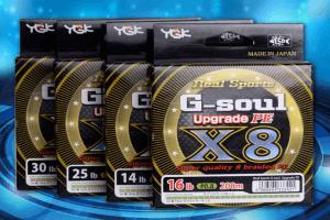 на шнур шнур YGK G-soul Upgrade PE X8