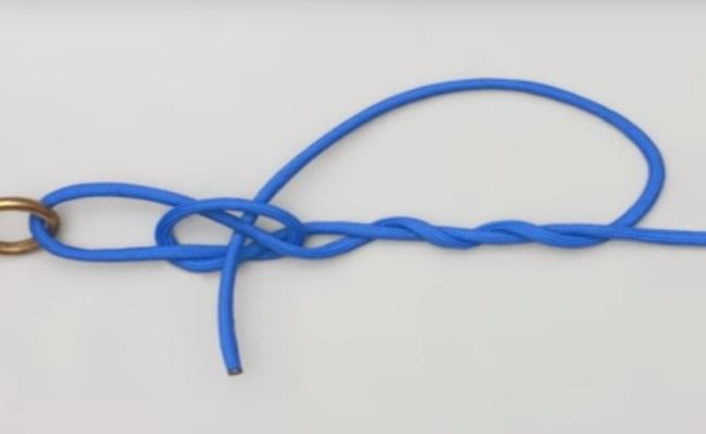 как привязать мормышку схема узла 4