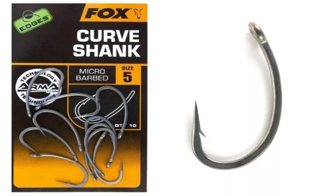 формы рыболовных крючков Curve Shank
